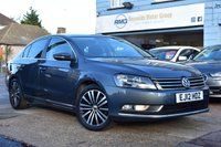 USED 2012 12 VOLKSWAGEN PASSAT 2.0 SPORT TDI BLUEMOTION TECHNOLOGY 4d 168 BHP NO DEPOSIT FINANCE AVAILABLE