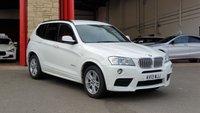 2013 BMW X3 3.0 XDRIVE30D M SPORT 5d AUTO 255 BHP £15484.00