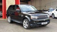 2013 LAND ROVER RANGE ROVER SPORT 3.0 SDV6 HSE BLACK 5d AUTO 255 BHP £15984.00