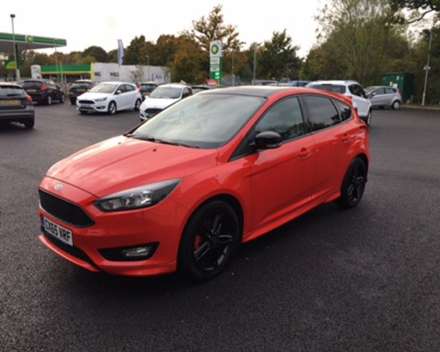 2016 65 FORD FOCUS 1.5 ZETEC S RED EDITION ECOBOOST 180 BHP