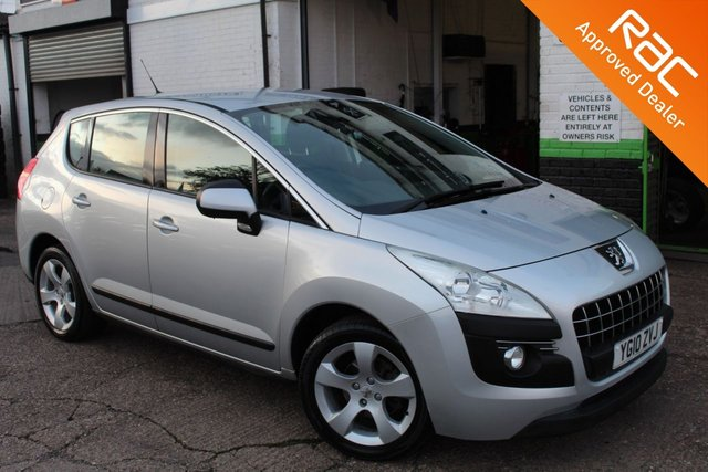 USED 2010 10 PEUGEOT 3008 1.6 SPORT HDI 5d 110 BHP VIEW AND RESERVE ONLINE OR CALL 01527-853940 FOR MORE INFO.