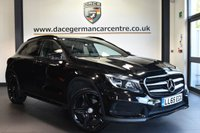 """USED 2015 65 MERCEDES-BENZ GLA-CLASS 2.1 GLA 220 D 4MATIC AMG LINE 5DR AUTO 174 BHP full mercedes service history Finished in a stunning cosmos metallic black styled with 19"""" alloys. Upon opening the drivers door you are presented with half leather interior, full mercedes service history, satellite navigation, bluetooth, reversing camera, cruise control, offroad package, rain sensors, multi-functional steering wheel, attention assist, automatic climate control, AMG styling package, privacy glass, AMG sport package"""