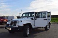 USED 2013 63 JEEP WRANGLER 2.8 SAHARA UNLIMITED HARDTOP CRD 4d AUTO 197 BHP