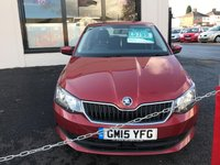 USED 2015 15 SKODA FABIA 1.2 SE TSI 5d 89 BHP BLUE TOOTH, AUX PHONE: