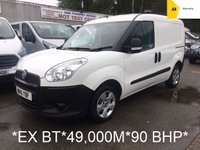 USED 2015 15 FIAT DOBLO 1.2 16V MULTIJET 90 BHP *BT OWNED FROM NEW*FULL HISTORY*