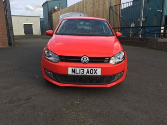 2013 VOLKSWAGEN POLO 1.2 MATCH EDITION 3d 59 BHP £4550.00