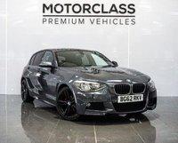 USED 2012 62 BMW 1 SERIES 2.0 118D M SPORT 5d AUTO 141 BHP
