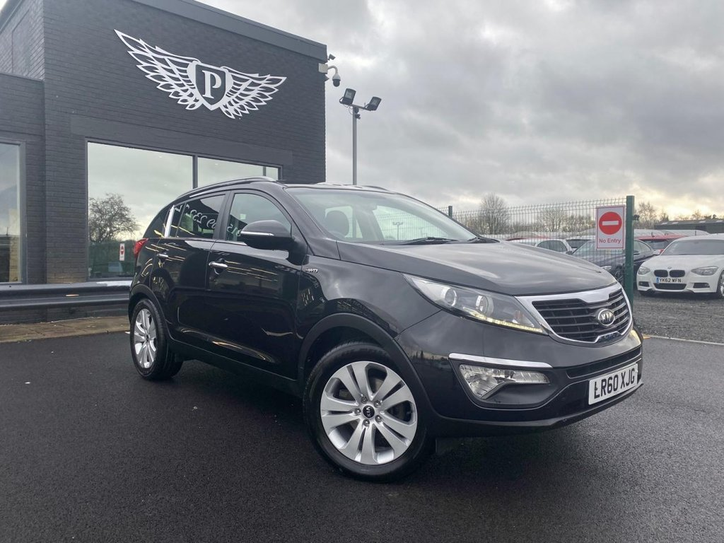 USED 2010 60 KIA SPORTAGE 2.0 CRDI FIRST EDITION 5d 134 BHP F & R HEATED SEATS | DVD PLAYER | REVERSING CAMERA