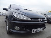 USED 2005 55 PEUGEOT 206 2.0 GTI 3d 135 BHP DRIVES WELL
