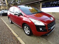 USED 2012 12 PEUGEOT 3008 1.6 ALLURE E-HDI FAP 5d AUTO 112 BHP * LEATHER INTERIOR * HEATED SEATS * PANORAMIC ROOF * PARKING SENSORS * £0 DEPOSIT FINANCE AVAILABLE * *
