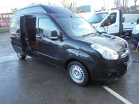 USED 2016 16 VAUXHALL COMBO CHOICE OF TWO LONG WHEEL BASE HIGH TOP, LOW MILES, L2H2 S/S FULL SERVICE HISTORY ££ FINANCE AVAILABLE £££ VAUXHALL COMBO LWB HIGH TOP LOW MILEAGES F.S.H