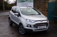 USED 2015 65 FORD ECOSPORT 1.0 TITANIUM 5d 124 BHP Full Ford Service History One Owner