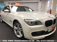 USED 2011 60 BMW 7 SERIES 730LD M SPORT LWB LIMO IN ALPINE WHITE UK DELIVERY* RAC APPROVED* FINANCE ARRANGED* PART EX