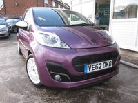 USED 2012 62 PEUGEOT 107 1.0 ACTIVE 3d 68 BHP