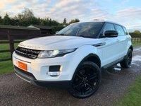 USED 2012 62 LAND ROVER RANGE ROVER EVOQUE 2.2 SD4 PURE TECH 5d 190 BHP SAT NAV HEATED ELECTRIC MEMORY SEATS MERIDIAN SOUND PACK BLUETOOTH AUDIO