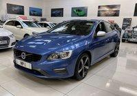 USED 2017 67 VOLVO S60 2.0 D4 R-DESIGN NAV 4d AUTO 187 BHP SALOON