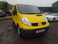 USED 2010 10 RENAULT TRAFIC 2.0 SL29 DCI SWB 115 BHP GREAT VALUE VAN WITH SIDE OPENING DOOR, GREAT VALUE
