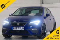 USED 2017 67 SEAT LEON 2.0 TDI FR TECHNOLOGY 5d 148 BHP FULL SERVICE HISTORY, 1 OWNER, SATELLITE NAVIGATION