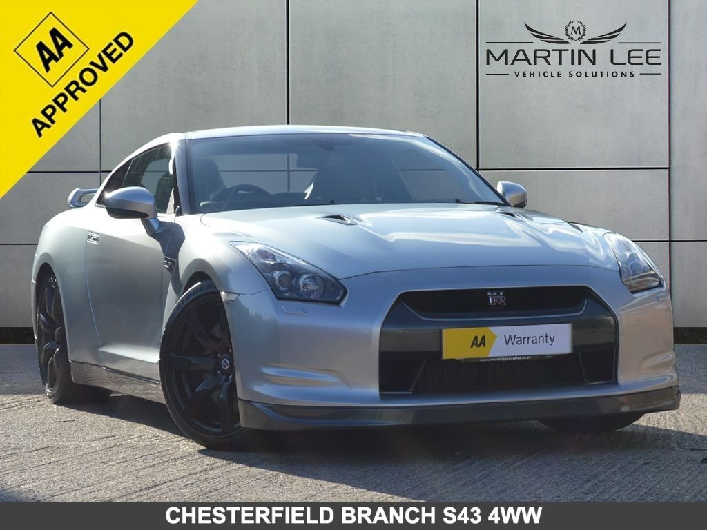 USED 2009 59 NISSAN GT-R 3.8 BLACK EDITION 2d AUTO 610 BHP ULTIMATE SUPERCAR THAT WILL LEAVE YOU BREATHLESS