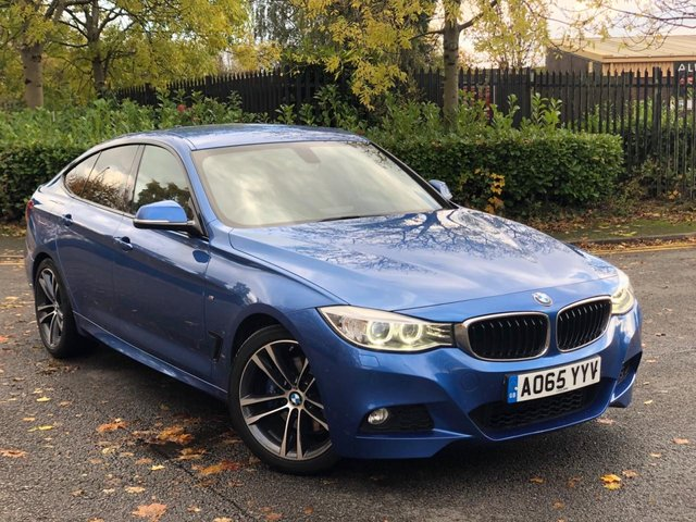 2015 65 BMW 3 SERIES 2.0 320D M SPORT GRAN TURISMO 5d AUTO 181 BHP
