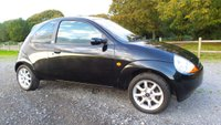 USED 2008 08 FORD KA 1.3 ZETEC CLIMATE CLOTH 3d 69 BHP BLACK LEATHER TRIM, ALLOY WHEELS, HEATED SCREEN, CD-PLAYER, ELECTRIC WINDOWS, METALLIC PAINT, CENTRAL LOCKING, ECONOMICAL, IDEAL 1ST CAR
