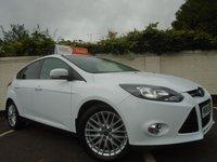 2014 FORD FOCUS 1.0 ZETEC 5d 99 BHP £6299.00