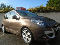 USED 2011 11 RENAULT SCENIC 1.6 DYNAMIQUE TOMTOM VVT 5d 110 BHP GUARANTEED TO BEAT ANY 'WE BUY ANY CAR' VALUATION ON YOUR PART EXCHANGE