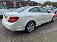 USED 2012 62 MERCEDES-BENZ C CLASS 2.1 C250 CDI BlueEFFICIENCY AMG Sport 7G-Tronic Plus 2dr (COMAND) PANORAMIC SUN ROOF