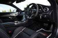 USED 2018 67 MERCEDES-BENZ C CLASS 4.0 C63 V8 BiTurbo AMG S (Premium) SpdS MCT (s/s) 2dr PAN ROOF+HUD+AERO KIT+360 CAM.