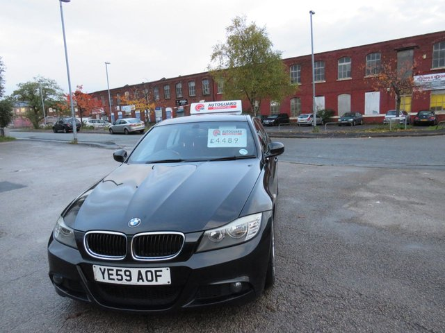 USED 2009 59 BMW 3 SERIES 2.0 318D M SPORT 4d AUTO 141 BHP A GREAT AUTOMATIC BMW