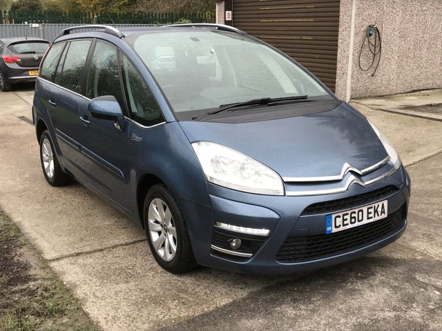 USED 2010 60 CITROEN C4 GRAND PICASSO 1.6 VTR PLUS HDI 5d 110 BHP TWO LADY OWNERS
