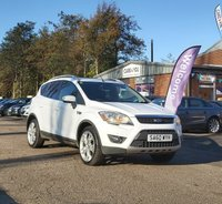 USED 2010 60 FORD KUGA 2.0 TITANIUM TDCI AWD 5d 163 BHP PRIVACY GLASS +   PARKING AID +  HALF LEATHER +   19 INCH ALLOYS *  CRUISE CONTROL *  CLIMATE CONTROL *