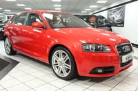 USED 2007 07 AUDI A3 2.0 T FSI S LINE SPECIAL EDITION QUATTRO 200 BHP FSH CAMBELT DONE BOSE HOT LTHR