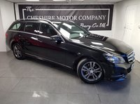 USED 2013 13 MERCEDES-BENZ E CLASS 2.1 E220 CDI SE 5d AUTO 168 BHP + SAT NAV + LEATHER + 2KEYS