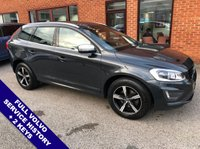 USED 2016 66 VOLVO XC60 2.0 D4 R-DESIGN LUX NAV 5DOOR 188 BHP DAB Radio   :   Satellite Navigation   :   USB & AUX Sockets   :   Car Hotspot / WiFi      Cruise Control   :   Phone Bluetooth Connectivity   :   Climate Control / Air Conditioning      R-Design Steering Wheel   :   Heated Front Seats   :   Electric Driver Seat   :   Auto Tailgate      Rear Parking Sensors   :   2 Keys   :   Full Volvo Service History
