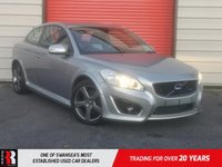 USED 2011 61 VOLVO C30 1.6 D2 R-DESIGN 3d 113 BHP LEATHER SEATS