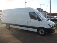 2017 MERCEDES-BENZ SPRINTER 314CDI LWB, 140 BHP [EURO 6], LOW MILES £15995.00
