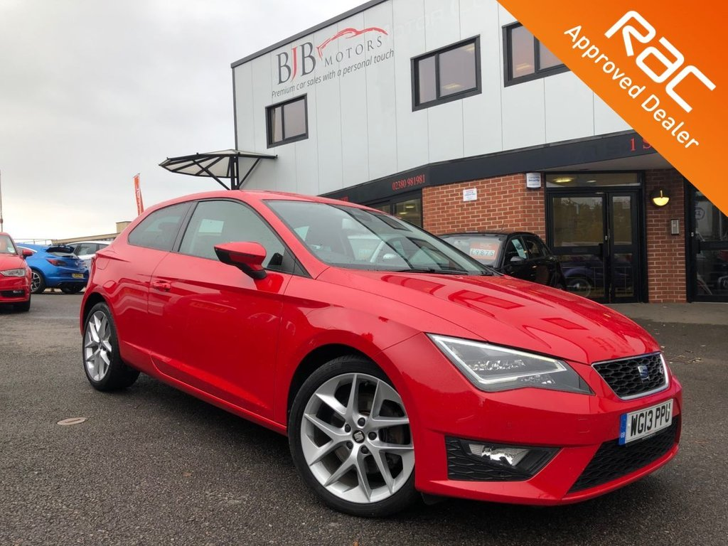 USED 2013 13 SEAT LEON 1.8 TSI FR TECHNOLOGY 3d 180 BHP