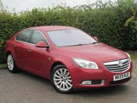 USED 2009 59 VAUXHALL INSIGNIA 1.6 ELITE NAV 5d * ONE OWNER FROM NEW * FULL SERVICE HISTORY *