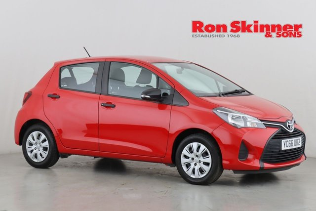 View our 2016 66 TOYOTA YARIS 1.0 VVT-I ACTIVE 5d 69 BHP