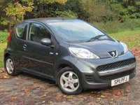 USED 2011 11 PEUGEOT 107 1.0 MILLESIM 3d 68 BHP * 12 MONTHS AA BREAKDOWN COVER * 128 POINT AA INSPECTED *