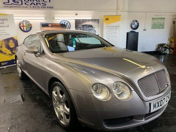 2007 BENTLEY CONTINENTAL 6.0 GT 2d AUTO 550 BHP £23990.00