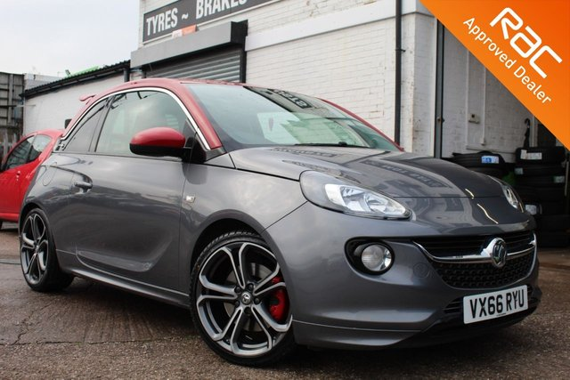 USED 2016 66 VAUXHALL ADAM 1.4 S S/S 3d 148 BHP VIEW AND RESERVE ONLINE OR CALL 01527-853940 FOR MORE INFO.