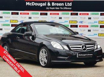 2013 MERCEDES-BENZ E CLASS 2.1 E220 CDI BLUEEFFICIENCY SPORT 2d AUTO 170 BHP £11499.00