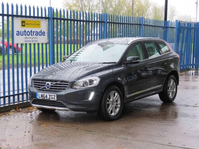 USED 2014 64 VOLVO XC60 2.4 D4 SE LUX NAV AWD 5dr Sat nav Leather Alloys Cruise Memory seat satnav, leather interior, service history