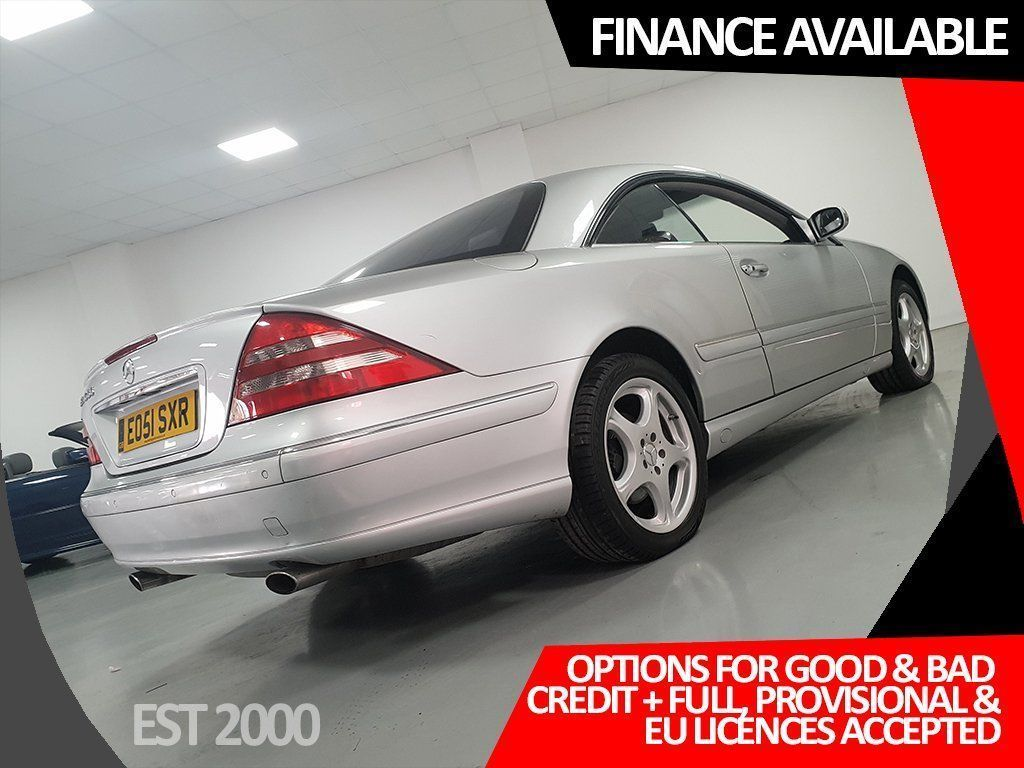 USED 2002 51 MERCEDES-BENZ CL 5.0 CL500 2dr *5 MERCEDES STAMPS * FULL MOT*