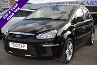 2010 FORD C-MAX 1.6 STYLE 5d 108 BHP £3995.00
