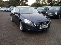 USED 2011 11 VOLVO S60 2.0 D3 SE LUX 4d AUTO 161 BHP High Spec, Beautifully Maintained Volvo, FSH (all Volvo bar 1) and Long MOT!
