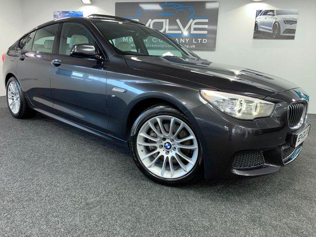 2014 64 BMW 5 SERIES 2.0 520D M SPORT GRAN TURISMO 5d AUTO 181 BHP