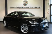 """USED 2015 15 AUDI TT 2.0 TFSI SPORT 2DR 227 BHP full service history Finished in a stunning phantom black styled with 18"""" alloys. Upon opening the drivers door you are presented with half black leather interior, full service history, bluetooth, dab radio, xenon lights, virtual cockpit, sport seats, multi-functional steering wheel, heated mirrors, auto stop/start function, air conditioning"""